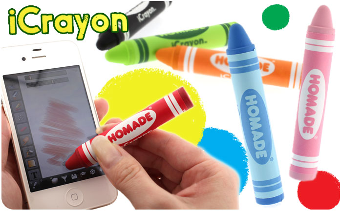 iCrayon Stylus Pen for Smartphones and Tablets