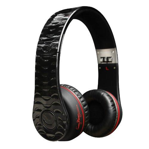 Fanny Wang FW-1002-BLK Premium Luxury On-Ear Headphones