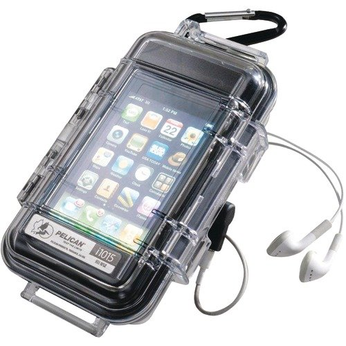 Touch Case for iPhone/iPod Touch - Clear/Black