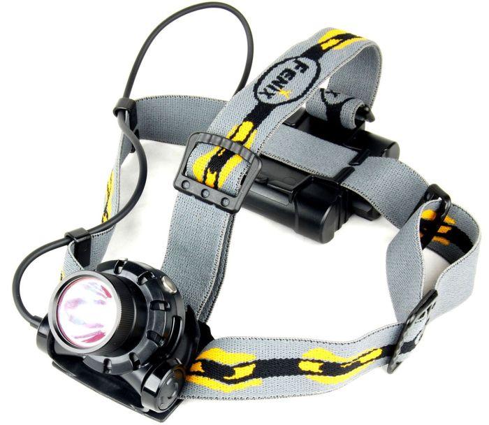 Waterproof LED Headlamp 277 Lumens Black