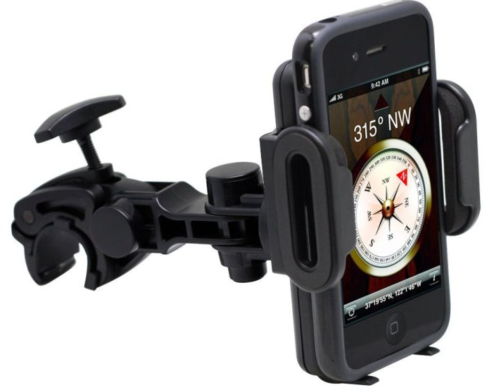 Bicycle Holder Wrench Mount for Universal Mobile Device