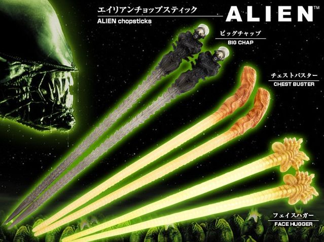 Alien Chopsticks