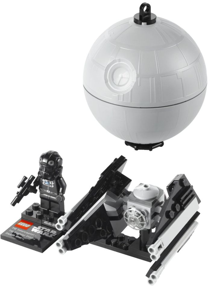 LEGO Star Wars Tie Interceptor and Death Star