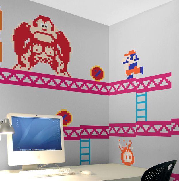 Blik Donkey Kong Wall Decals