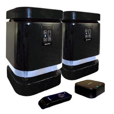 Media Block Deluxe Weather-Resistant Wireless Outdoor Stereo Speaker System