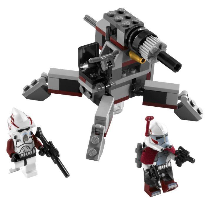 LEGO Star Wars Elite Clone Trooper and Commando Droid