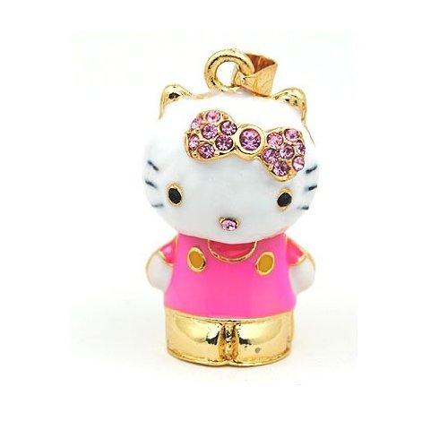 Hello Kitty 3D Crystal Style Design USB Flash Drive