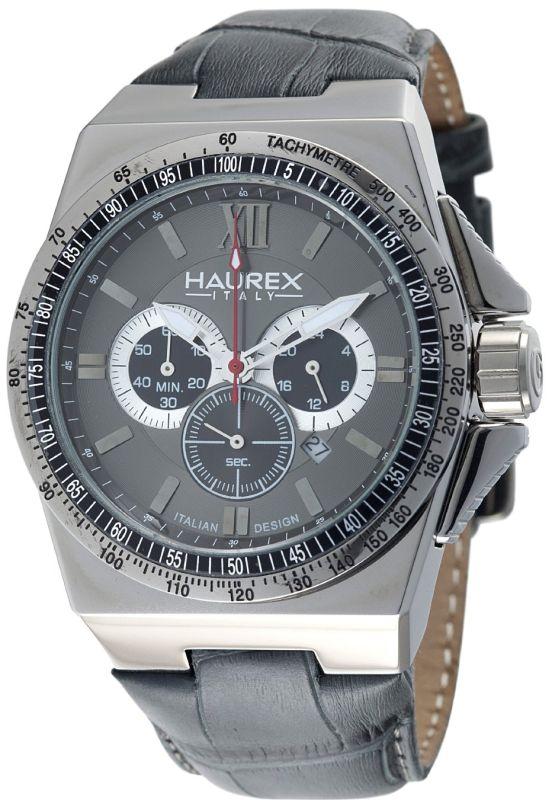 Haurex Italy Men's 9J340UGN Yacht Chrono Grey Dial Watch