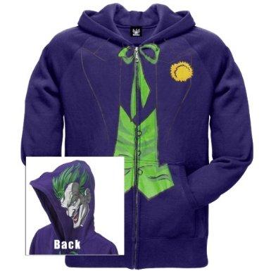 Batman - Joker Face Zip Hoodie