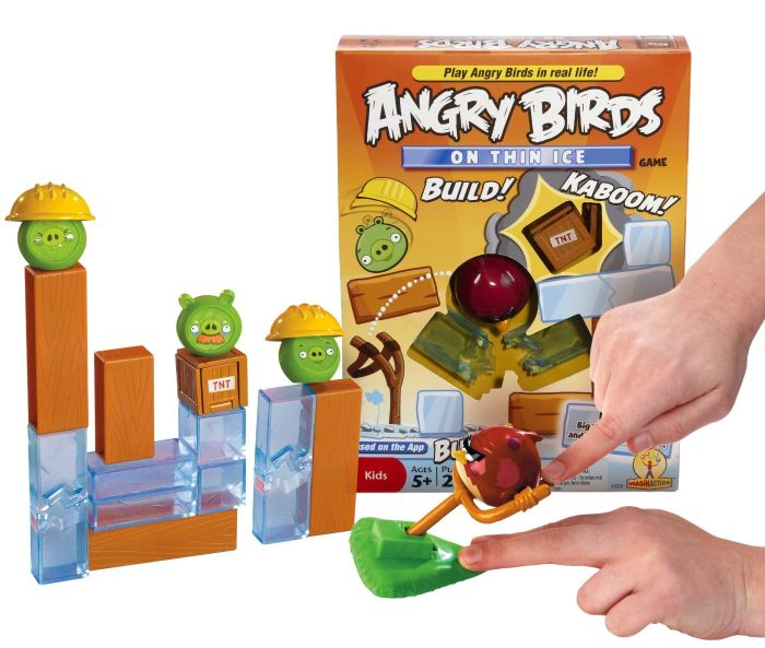 """Angry Birds """"On Thin Ice"""" Game"""