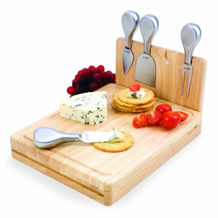 Picnic Time Asiago Folding Cheese Serving Set