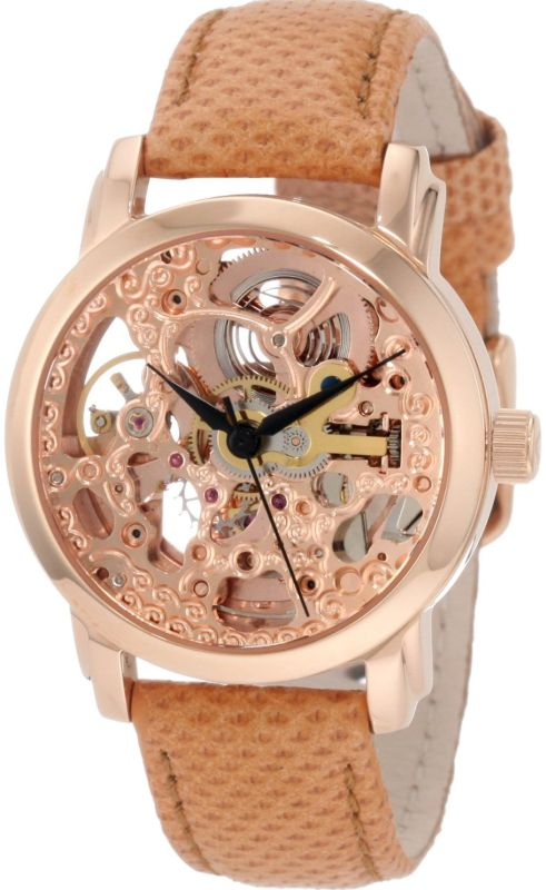 Women's AKR431RG Diamond Rose Gold Swiss Quartz Floating Watch