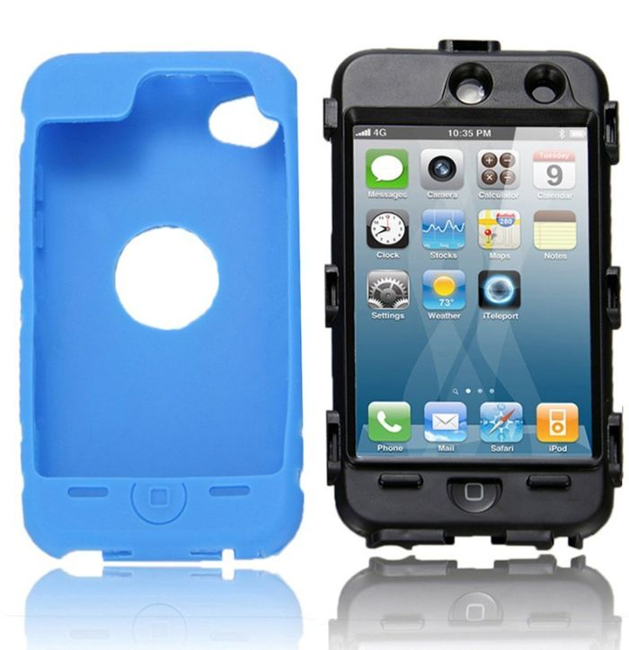 NTK Premium For iTouch iPod Touch 4 4G Silicone Case