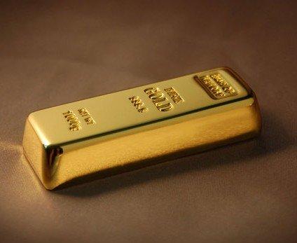8gb Gold Bar flash drive Usb Flash Pen Drive Memory