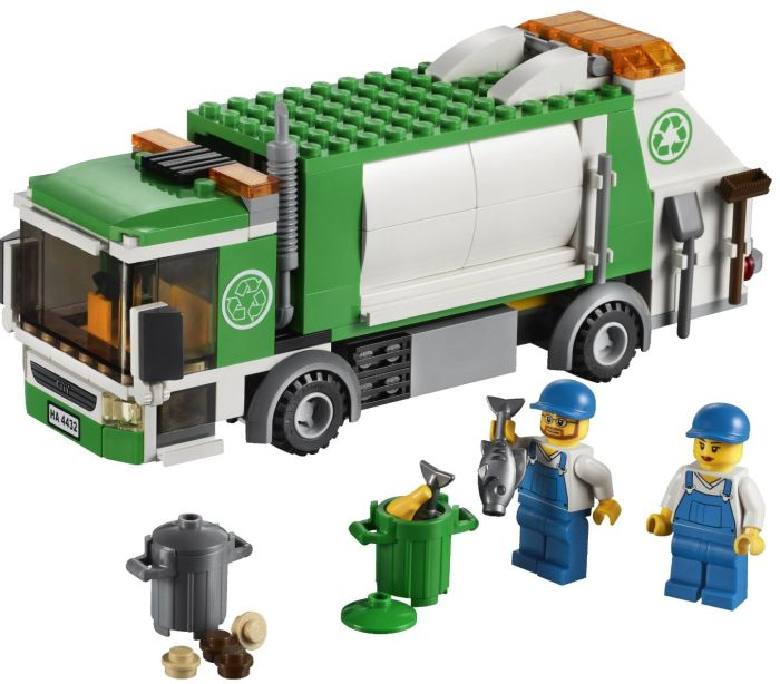 LEGO City Town Garbage Truck