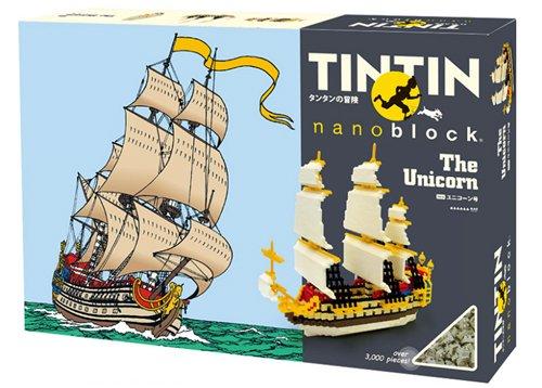 Tintin - The Secret of the Unicorn Ship - 3000pcs Set