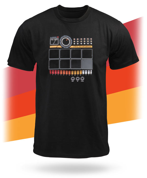 Electronic Drum Machine Shirt
