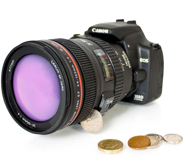 Canon Camera DSLR Money Box