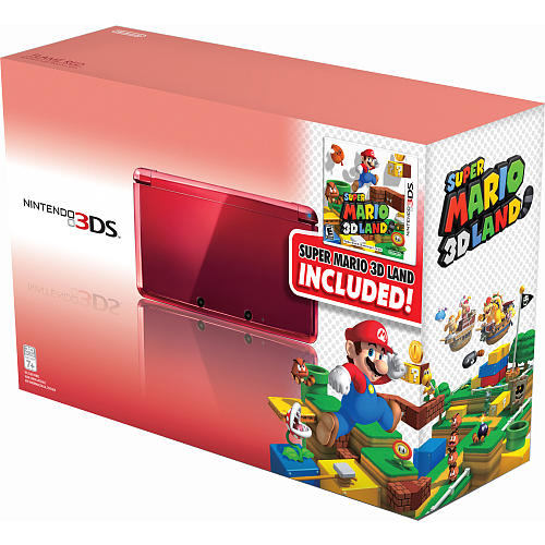 Nintendo 3DS with Super Mario 3D Land
