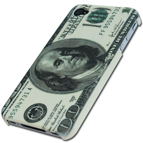 Money Designer Hard Back Case Cover for Apple iPhone 4 4G 4s