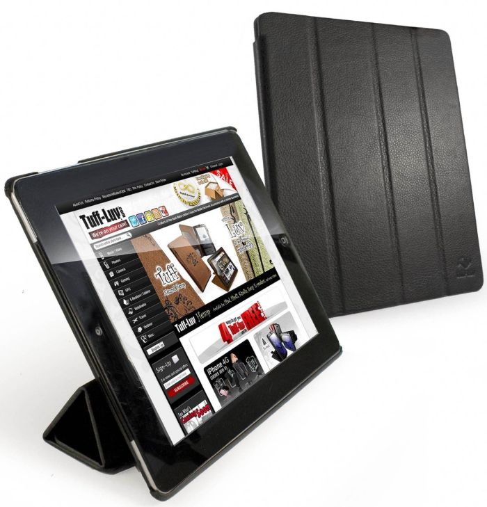 Tuff-Luv Smart-er Stasis Cover with Armour Shell for Apple iPad 2