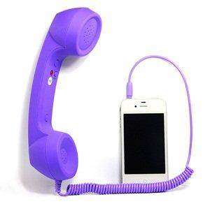 Cosmos Purple Foggy Unique Retro Telephone