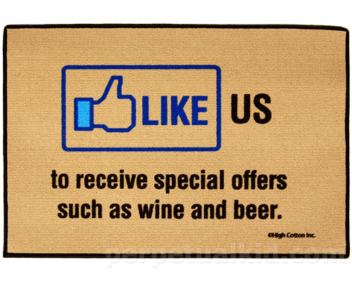 LIKE US TO RECEIVE SPECIAL OFFERS DOORMAT
