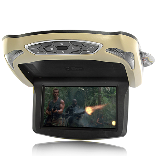 Roof-Mounted Car DVD and Media Player