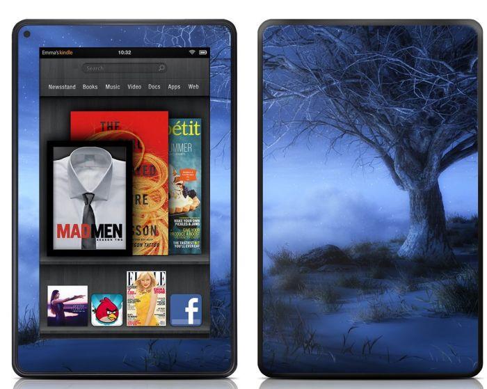 Kindle Fire Skin - World's Edge Winter