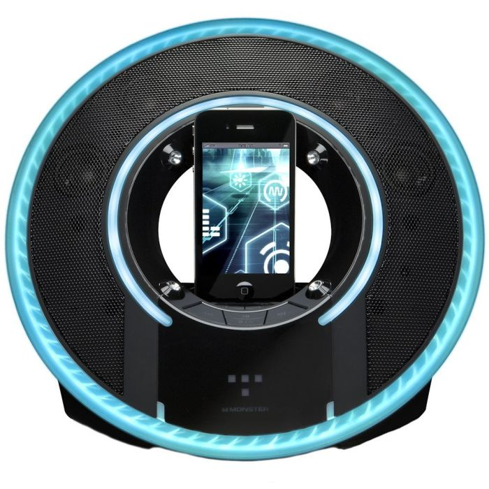 Monster Light Disc Audio Dock