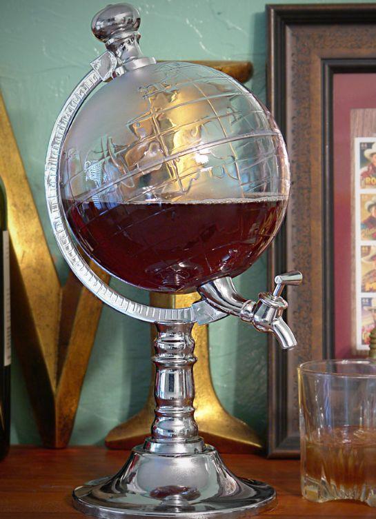 Globe Beverage Dispenser