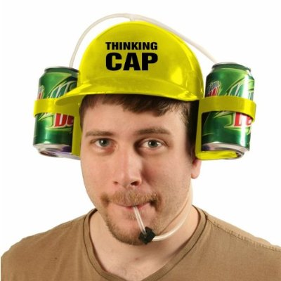 Thinking Cap Party Time Beer Helmet
