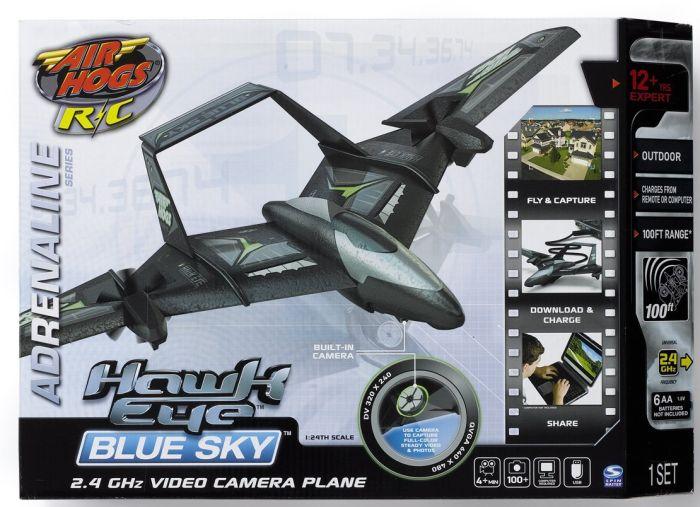 Air Hogs Hawk Eye Blue Sky R/C Plane