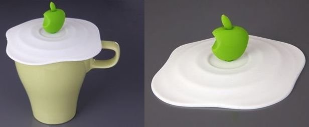 Green Apple Silicone Cup Cover