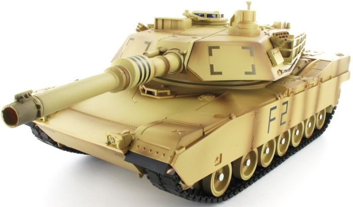 Radio Controlled M1A2 Abrams Tank Forces RC Toys