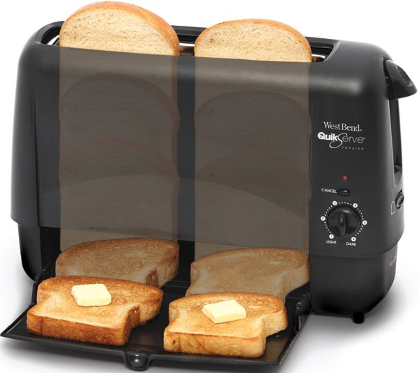 Focus Foodservice Quickserve 2-Slice Toaster