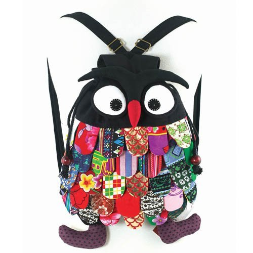 Owl Canvas Backpack