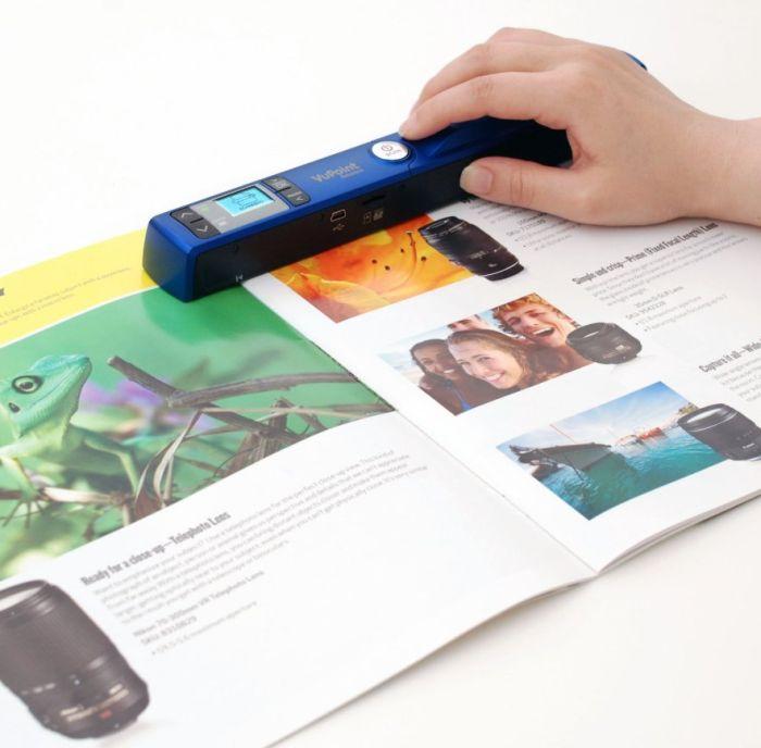 Vupoint Magic Wand II Portable Scanner Bundle