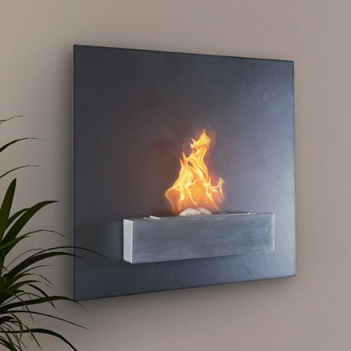Serafin Wall Mount Liquid Fuel Fireplace