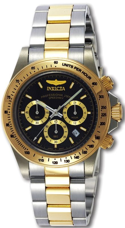 Invicta Men's 9224 Speedway Collection Gold-Tone Chronograph S Series Watch