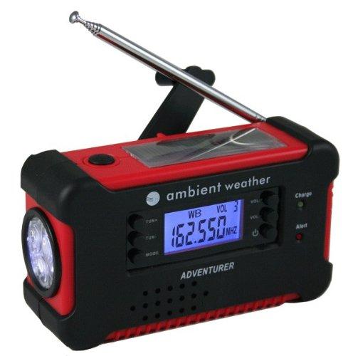 Ambient Weather WR-111 ADVENTURER Emergency Solar