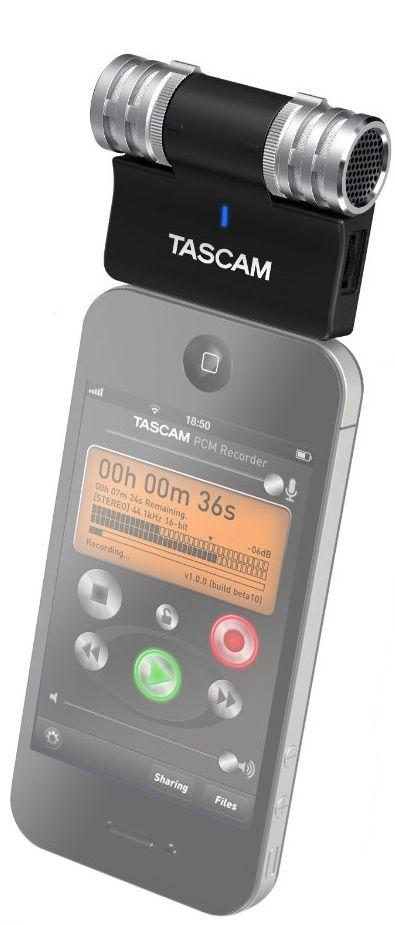 TASCAM iM2 Channel Portable Digital Recorder
