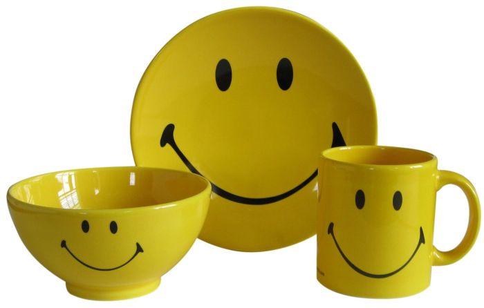 Smiley 3-Piece Set