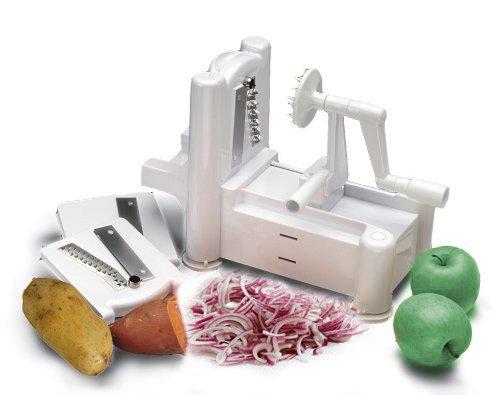Tri-Blade Spiral Vegetable Slicer