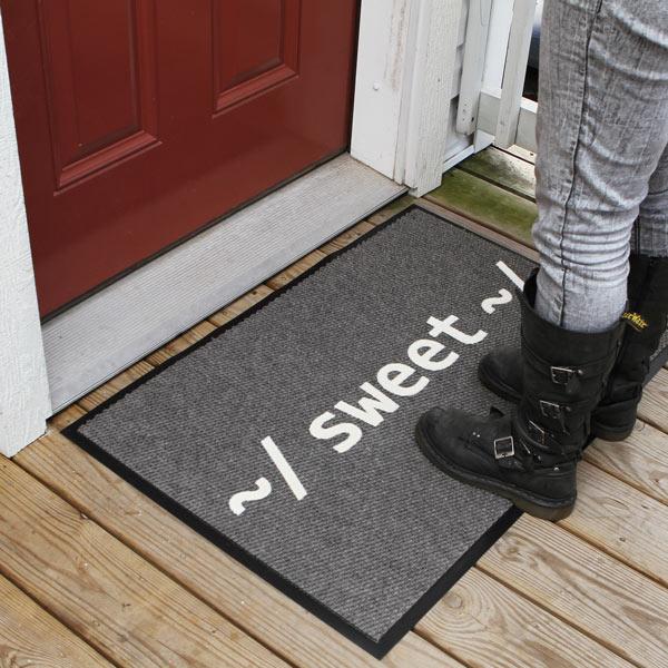 ~/ Sweet ~/ Welcome Mat