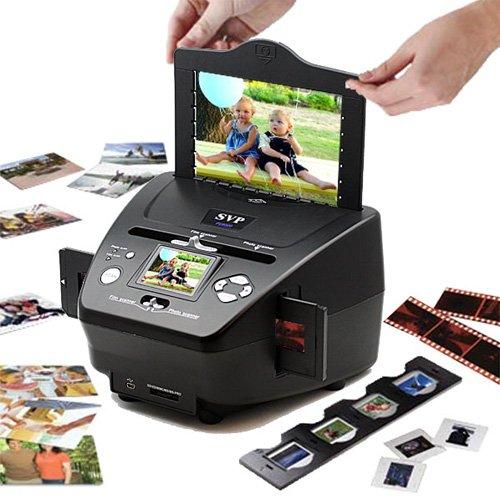 Digital 35mm Film & Slides Scanner w/ Built-in 2.4inch LCD & SD Card Slot