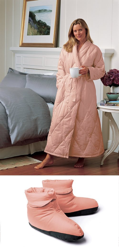 Robe and Matching Slippers