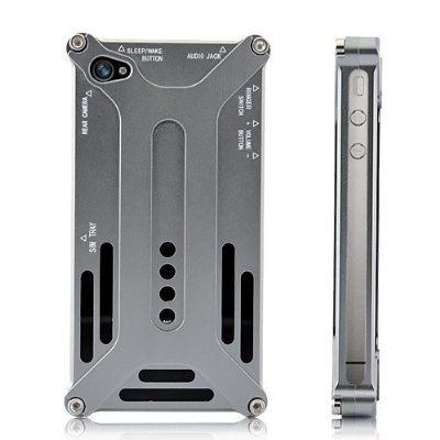 Transformer Style Aluminum Case for Iphone 4 4S
