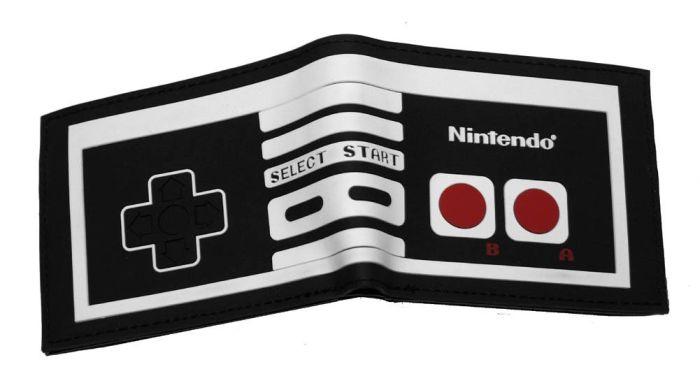 Nintendo Entertainment System NES Retro Controller Bifold Wallet