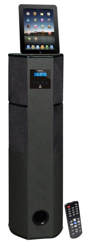 2.1 Channel Home Theater Tower with Docking Station for iPod/iPhone/iPad